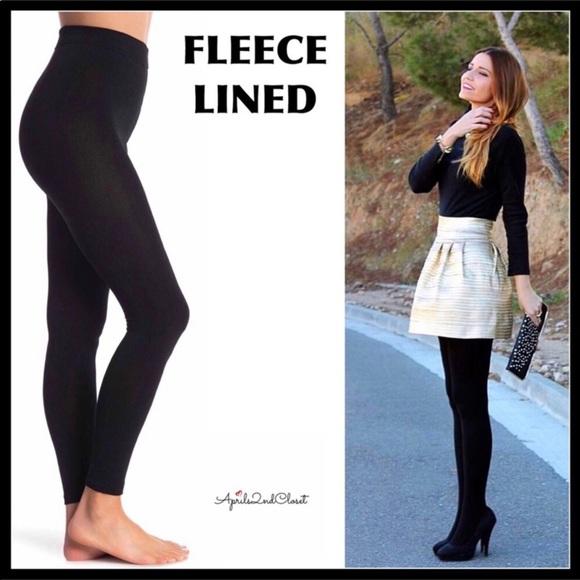 ee4f2ea3778cd1 Rampage Pants | 6hour Salefleece Lined Footless Tights | Poshmark